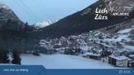 Archiv Foto Webcam Oberlech am Arlberg: Blick vom Flühenlift 01:00