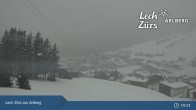 Archiv Foto Webcam Oberlech am Arlberg: Blick vom Flühenlift 03:00