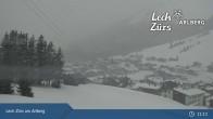 Archiv Foto Webcam Oberlech am Arlberg: Blick vom Flühenlift 05:00