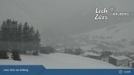 Archiv Foto Webcam Oberlech am Arlberg: Blick vom Flühenlift 07:00