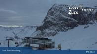 Archived image Webcam Mountain Restaurant Seekopf (Zürs) 19:00