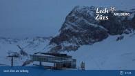 Archiv Foto Webcam Bergrestaurant Seekopf (Zürs) 21:00