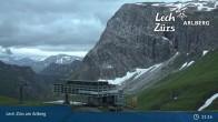 Archived image Webcam Mountain Restaurant Seekopf (Zürs) 21:00