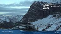 Archiv Foto Webcam Bergrestaurant Seekopf (Zürs) 23:00
