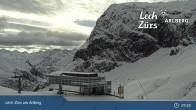 Archived image Webcam Mountain Restaurant Seekopf (Zürs) 04:00