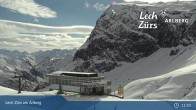 Archived image Webcam Mountain Restaurant Seekopf (Zürs) 06:00