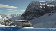 Archived image Webcam Mountain Restaurant Seekopf (Zürs) 08:00