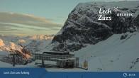 Archived image Webcam Mountain Restaurant Seekopf (Zürs) 14:00