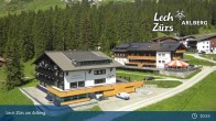 Archiv Foto Webcam Panoramablick Oberlech 03:00