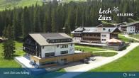 Archiv Foto Webcam Panoramablick Oberlech 07:00