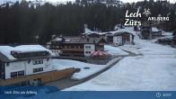 Archiv Foto Webcam Panoramablick Oberlech 02:00