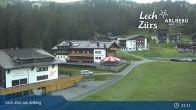 Archiv Foto Webcam Panoramablick Oberlech 23:00