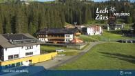 Archiv Foto Webcam Panoramablick Oberlech 01:00