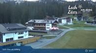Archiv Foto Webcam Panoramablick Oberlech 04:00