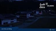 Archiv Foto Webcam Panoramablick Oberlech 06:00