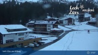 Archived image Webcam Panoramic View Oberlech 22:00