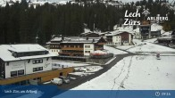 Archived image Webcam Panoramic View Oberlech 04:00