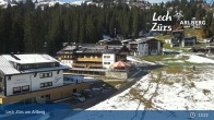 Archived image Webcam Panoramic View Oberlech 08:00