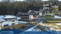 Archived image Webcam Panoramic View Oberlech 10:00