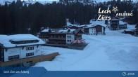 Archiv Foto Webcam Panoramablick Oberlech 21:00