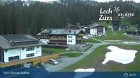 Archiv Foto Webcam Panoramablick Oberlech 19:00