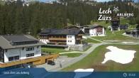 Archiv Foto Webcam Panoramablick Oberlech 05:00