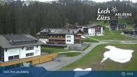 Archiv Foto Webcam Panoramablick Oberlech 13:00