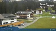 Archiv Foto Webcam Panoramablick Oberlech 11:00