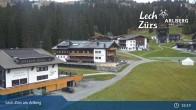 Archiv Foto Webcam Panoramablick Oberlech 15:00