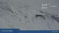 Archiv Foto Webcam Trittkopf Bergstation (Zürs) 07:00