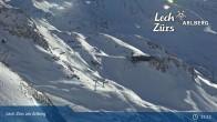 Archiv Foto Webcam Trittkopf Bergstation (Zürs) 09:00