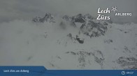 Archiv Foto Webcam Trittkopf Bergstation (Zürs) 03:00