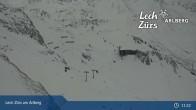 Archiv Foto Webcam Trittkopf Bergstation (Zürs) 05:00