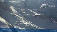 Archiv Foto Webcam Trittkopf Bergstation (Zürs) 13:00