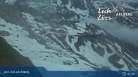 Archiv Foto Webcam Trittkopf Bergstation (Zürs) 19:00