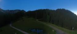 "Archived image Webcam Top station ""Panoramabahn"", ski resort ""Brandnertal"" 22:00"