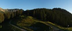 "Archived image Webcam Top station ""Panoramabahn"", ski resort ""Brandnertal"" 00:00"