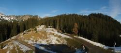Archiv Foto Webcam Bergstation Panoramabahn Brandnertal 03:00