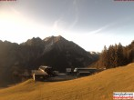 Archiv Foto Webcam Bergstation Dorfbahn 22:00
