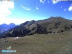 "Archived image Webcam Panoramic view ski resort ""Diedamskopf"" 10:00"