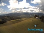 Archived image Webcam panoramic view alp Schetteregg 10:00