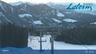 Archiv Foto Webcam Laterns - Bergstation Gapfohl 03:00