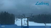 Archiv Foto Webcam Laterns - Bergstation Gapfohl 21:00