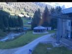 Archiv Foto Webcam Talstation Kabinenbahn, Gargellen 02:00