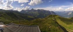 Archiv Foto Webcam Panorama vom Hüttenkopf, Golm 10:00