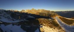 Archived image Webcam Mountain Hüttenkopf, Golm 02:00