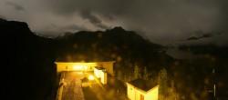 Archiv Foto Webcam Sils im Engadin: Ausblick vom Hotel Waldhaus 22:00