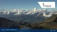 Archived image Webcam Davos Klosters: Weissfluhjoch (2260 m) 11:00