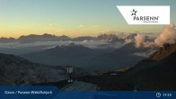 Archived image Webcam Davos Klosters: Weissfluhjoch (2260 m) 13:00