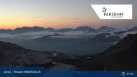 Archived image Webcam Davos Klosters: Weissfluhjoch (2260 m) 15:00